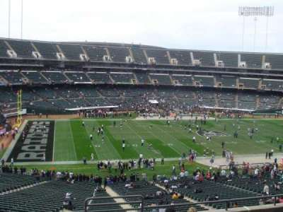 Oakland Alameda Coliseum section 246