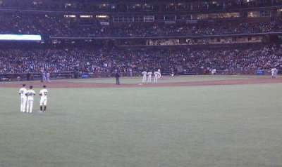 AT&T Park, section: 132, row: 1, seat: 1