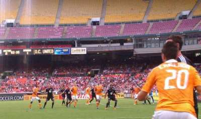 RFK Stadium, section: 129, row: 9, seat: 2