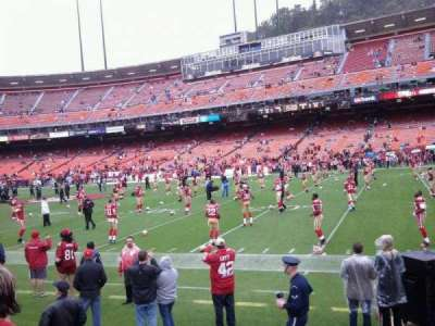 Candlestick Park section lower