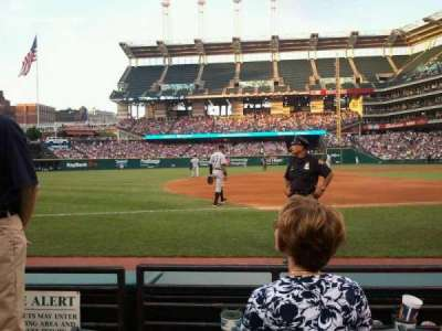 Progressive Field, section: 167, row: 3, seat: 2