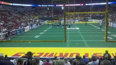 Wells Fargo Arena section 110