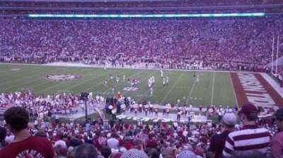 Bryant-Denny Stadium, section: D, row: 50, seat: 14
