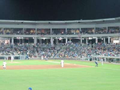 Palisades Credit Union Park, section: 123, row: 3, seat: 5