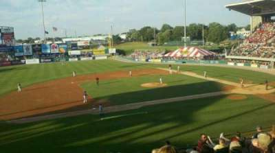 McCoy Stadium, section: 12, row: II, seat: 7