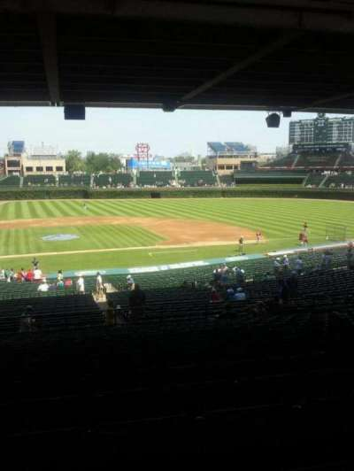 Wrigley Field, section: 226, row: 17, seat: 13