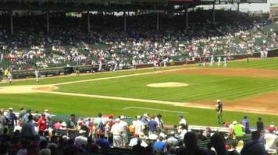 Wrigley Field section 233