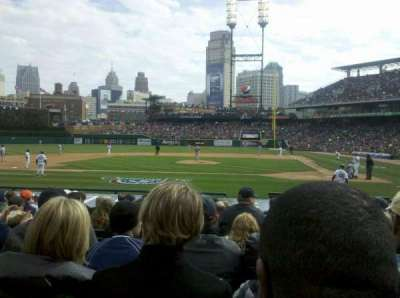 Comerica Park section 137