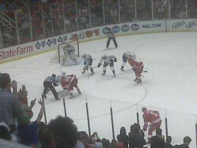 Joe Louis Arena, section: 207, row: 1, seat: 1
