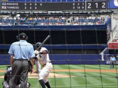 Yankee Stadium section 20