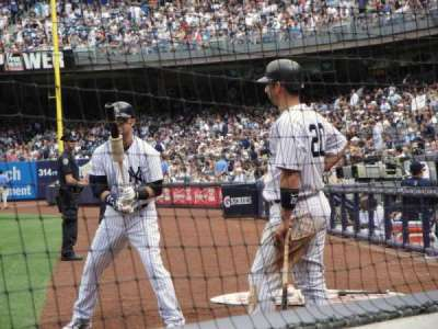 Yankee Stadium, section: 020, row: 2, seat: 4