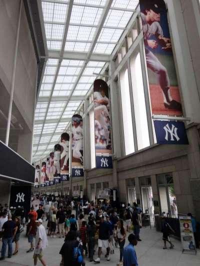 Yankee Stadium section Outside