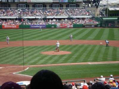 PNC Park, section: 114, row: W, seat: 10
