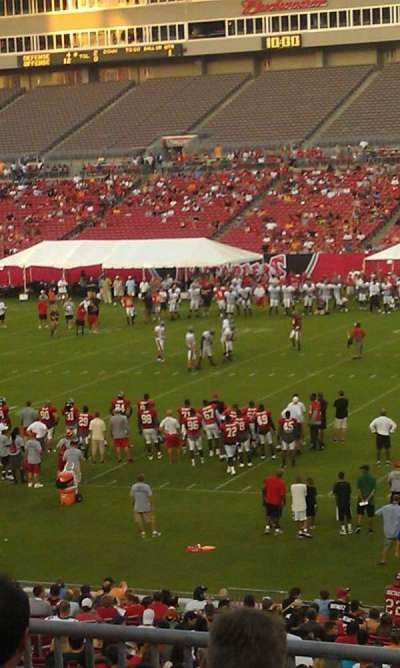 Raymond James Stadium section 212