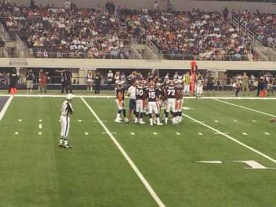 AT&T Stadium, section: 142, row: 3, seat: 7
