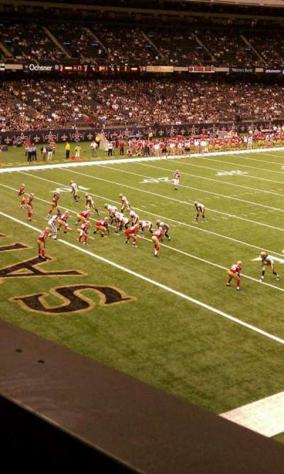 Mercedes-Benz Superdome section 277