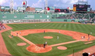 Fenway Park section Emc Club 2