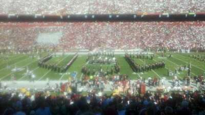 Williams-Brice Stadium, section: 5, row: 44, seat: 17