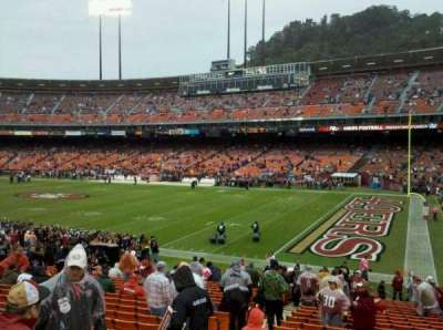 Candlestick Park section LE41