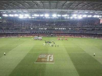 Docklands Stadium, section: 37, row: B