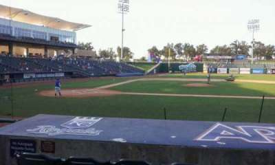 Arvest Ballpark, section: 107, row: i, seat: 10