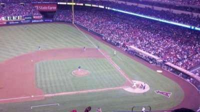 Angel Stadium section V514