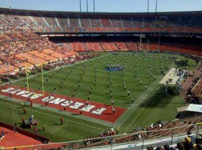Candlestick Park section ur44