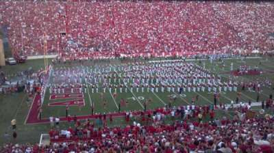 Razorback Stadium, section: 106, row: 46, seat: 43-44