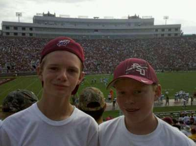 Bobby Bowden Field at Doak Campbell Stadium section 12