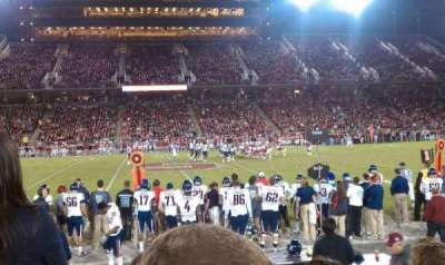 Stanford Stadium section 133