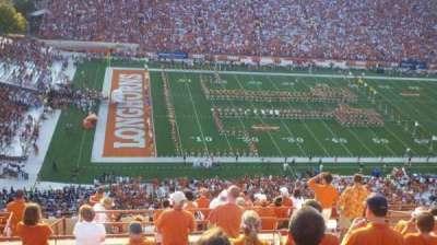 Texas Memorial Stadium, section: 131, row: 16, seat: 15