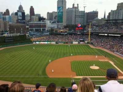 Comerica Park, section: 334, row: 7, seat: 7