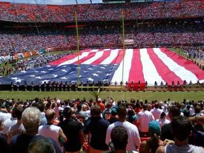 Hard Rock Stadium section 156