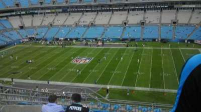 Bank of America Stadium, section: 539, row: 7, seat: 14