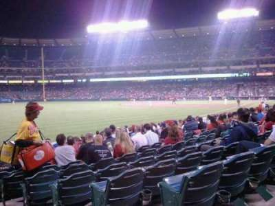 Angel Stadium section 103