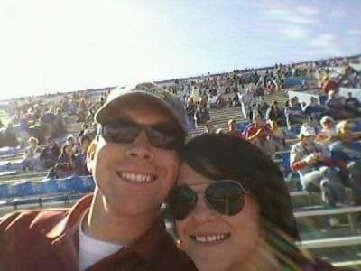 Memorial Stadium, section: 22, row: 1, seat: 13