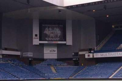 Ibrox Park section tunnel