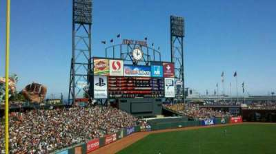 AT&T Park, section: 229, row: g, seat: 3