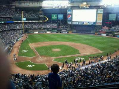 Miller Park, section: 326, row: 4, seat: 9