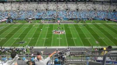 Bank of America Stadium, section: 542, row: 6, seat: 6