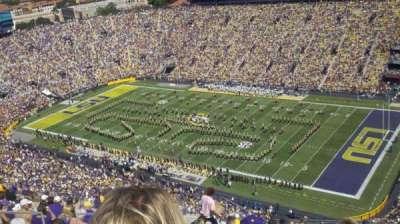 Tiger Stadium, section: 611, row: 14, seat: 21