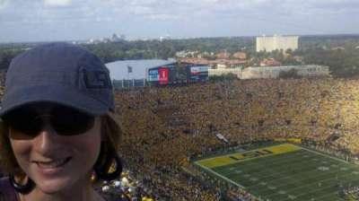 Tiger Stadium, section: 611, row: 14, seat: 22
