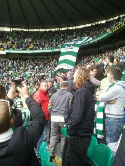 celtic park, section: 114, row: d