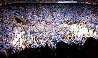 Dean Dome, section: 223, row: O, seat: 1