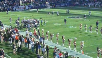 Gillette Stadium, section: 102, row: 34