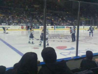 Stockton Arena section 116