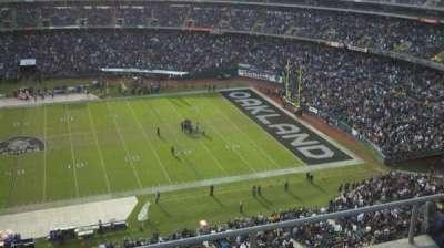 Oakland Alameda Coliseum section 344