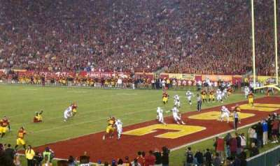Los Angeles Memorial Coliseum section 3