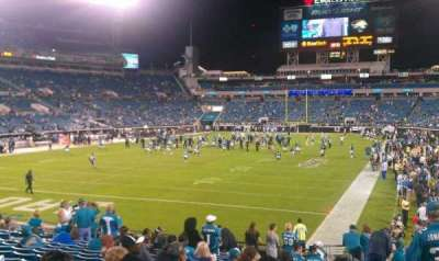 EverBank Field section 121