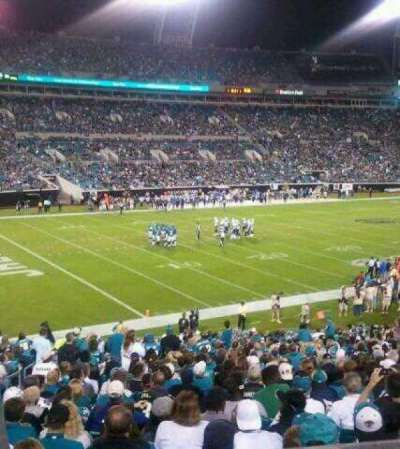 EverBank Field section 242